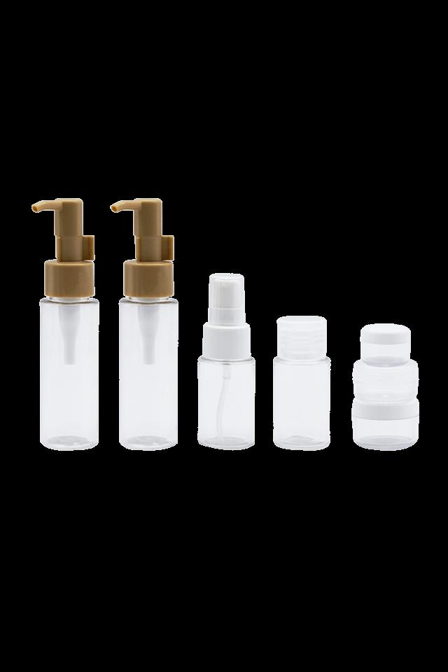 дорожный набор Портативная прозрачная пластиковая бутылка из ПЭТ 60 мл 35 мл